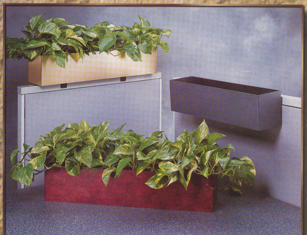 Workstation planters