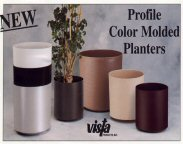 Vista cylinder planters